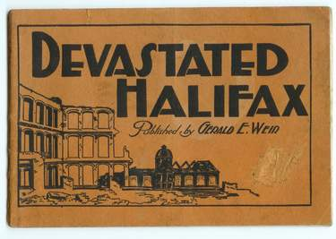Image for Devastated Halifax : Views of the Greatest Diseaster in the History of the American Continent
