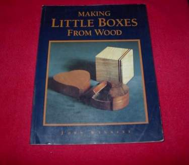 Image for Making Little Boxes from Wood