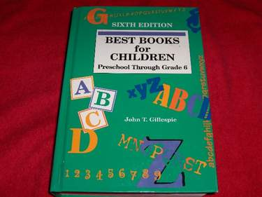 Image for Best Books for Children : Preschool Through Grade 6 [Sixth Edition]