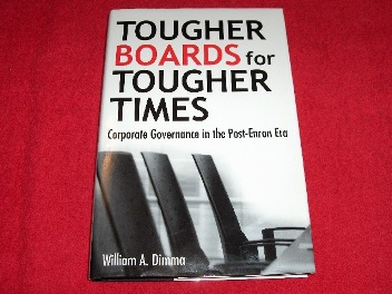 Image for Tougher Boards for Tougher Times : Corporate Governance in the Post- Enron Era