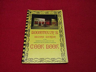 Image for Boomtown's Cook Book [Second Edition] of the Women's AUxiliary of the Western Development Museum
