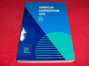 Image for American Cooperation [1991]