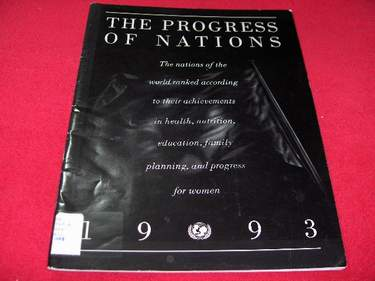Image for The Progress of Nations