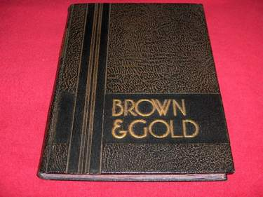 Image for Brown and Gold Yearbook 1936