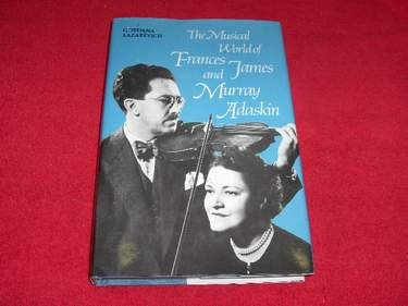 Image for The Musical World of Frances James and Murray Adaskin