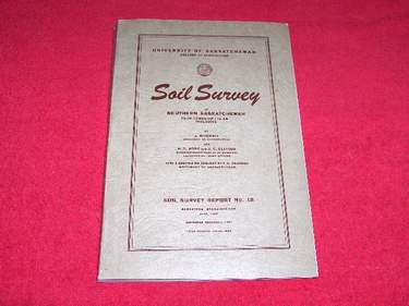 Image for Soil Survey of Southern Saskatchewan from Township 1 to 48 Inclusive [Soil Survey Report No. 12]