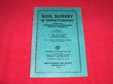 Image for Soil Survey of Southern Saskatchewan from Township 1 to 48 Inclusive [Soil Survey Report No. 13]