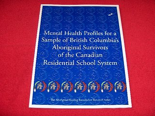Image for Mental Health Profiles for a Sample of British Columbia's Aboriginal Survivors of the Canadian Residential School Sysyem