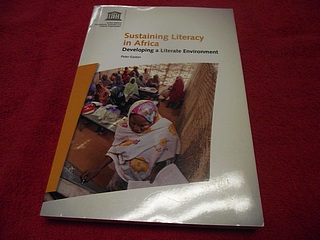 Image for Sustaining Literacy in Africa : Developing a Literate Environment