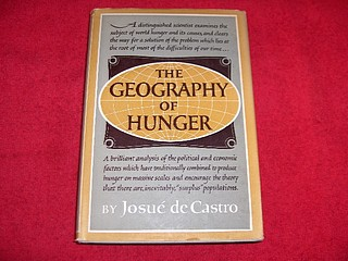 Image for The Geography of Hunger