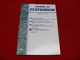 Image for Journal of Ecotourism [Volume 4, No. 3, 2005]