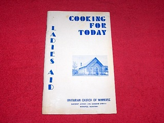 Image for Cooking for Today Ladies Aid : Unitarian Church of Winnipeg