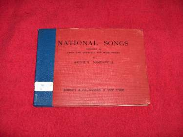 Image for National Songs : English, Scotch, Irish and Welsh, Arranged as Unaccmpanied Trios and Quartets for Male Voices