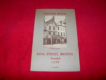 Image for Theatre Royal, King Street, Bristol