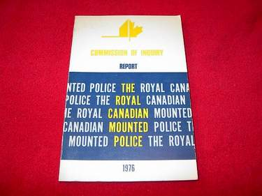 Image for Commission of Inquiry Relating to Public Complaints, Internal Discipline and Grievance Procedure Within the Royal Canadian Mounted Police