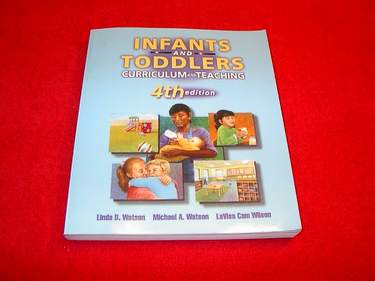 Image for Infants & Toddlers : Curriculum and Teaching [4th Edition]