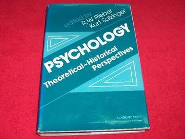 Image for Psychology : Theoretical - Historical Perspectives
