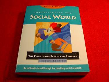 Image for Investigating the Social World:  The Process and Practice of Research [Second Edition]