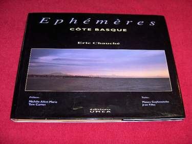 Image for Ephemeres : Cote Basque