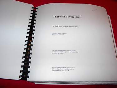 Image for There's a Boy in There [In Braille] : Volume I [One]