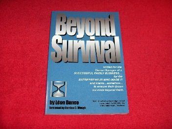 Image for Beyond Survival : A Business Owners' Guide for Success
