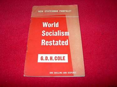 Image for World Socialism Restated [New Statesman Pamphlet]