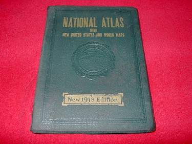 Image for National Atlas of the World with New United States and World Maps : 1938 Edition