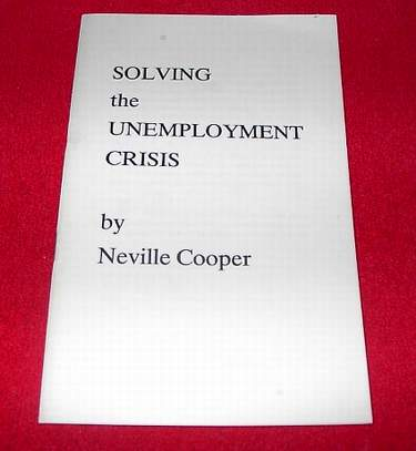 Image for Solving the Unemployment Crisis