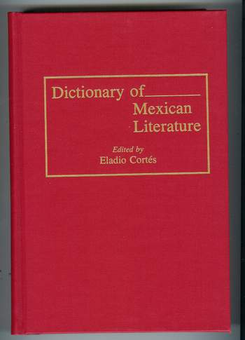 Image for Dictionary of Mexican Literature