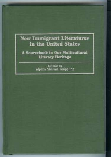 Image for New Immigrant Literatures in the United States : A Sourcebook to Our Multicultural Literary Heritage