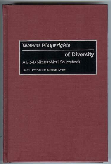 Image for Women Playwrights of Diversity : A Bio-Bibliographical Sourcebook