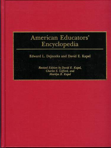 Image for American Educators' Encyclopedia [Second Edition]