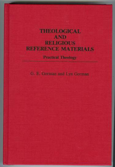 Image for Theological and Religious Reference Materials : Practical Theology
