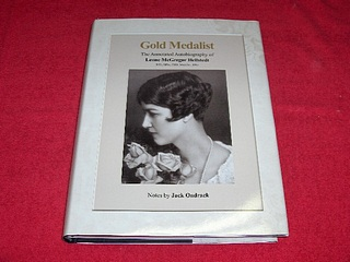 Image for Gold Medalist : The Annotated Autobiography of Leone McGregor Hellstedt