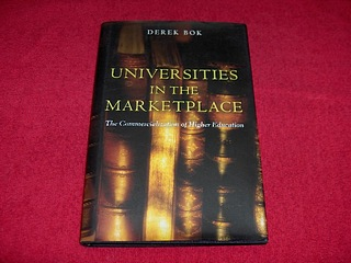 Image for Universities In The Marketplace: The Commercialization Of Higher Education