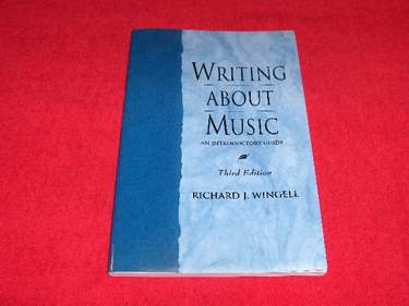 Image for Writing About Music : An Introductory Guide [Third Edition]