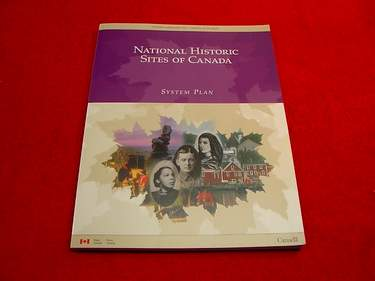 Image for National Historic Sites of Canada : System Plan