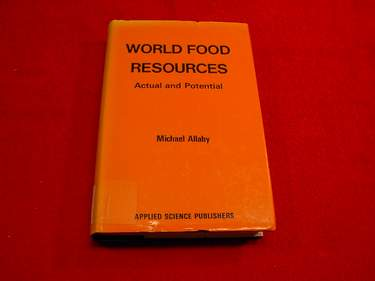 Image for World Food Resources : Actual and Potential