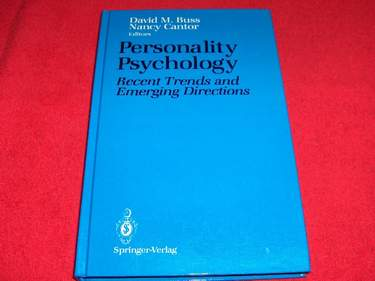 Image for Personality Psychology : Recent Trends and Emerging Directions