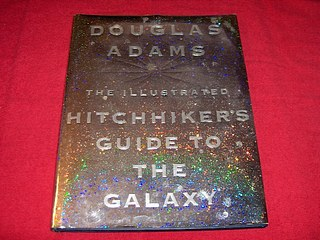 Image for The Illustrated Hitchhiker's Guide to the Galaxy