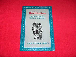 Image for Restitution : Restructuring School Discipline [Second Revised Edition]