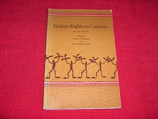 Image for Native Rights in Canada [Second Edition]