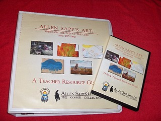 Image for Allen Sapp's Art : Through the Eyes of the Cree and Beyond : A Teacher Resource Guide