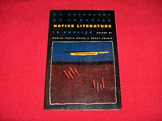 Image for An Anthology of Canadian Native Literature in English