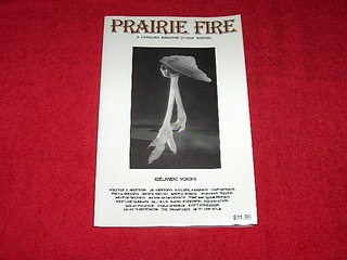 Image for Prairie Fire: A Canadian Magazine of New Writing [Autumn 2000] : Icelandic Voices