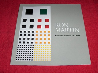 Image for Ron Martin : Geometric Painting, 1981-1985