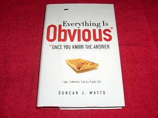 Image for Everything is Obvious : Once You Know the Answer
