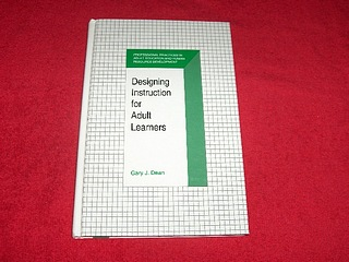 Image for Designing Instruction for Adult Learners
