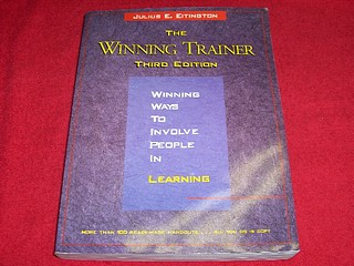 Image for The Winning Trainer : Winning Ways to Involve People in Learning [Third Edition]