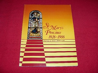 Image for St. Mary's Province, 1926-1986 : Oblates of Mary Immaculate